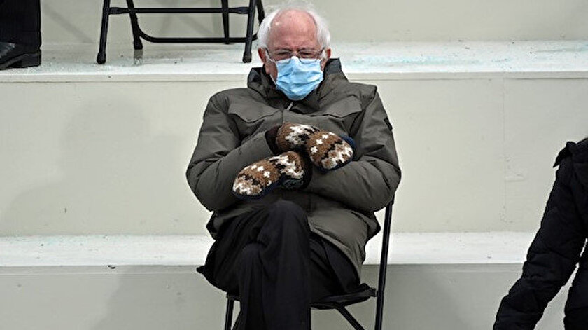 Fotoğrafı viral olmuştu: Sanders'ın eldivenleri seri üretilecek