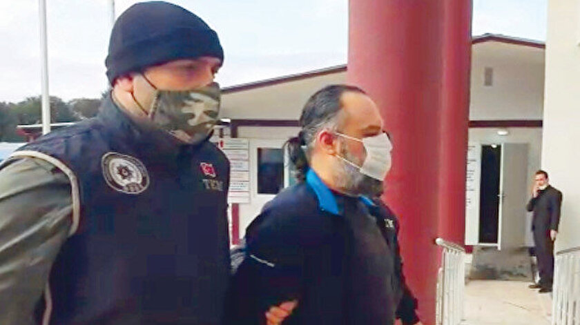 Türkiye suikastçısı kıskıvrak