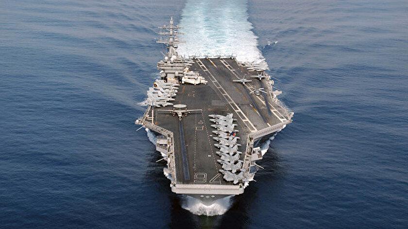 ABD, USS Nimitz uçak gemisini Orta Doğudan çekti