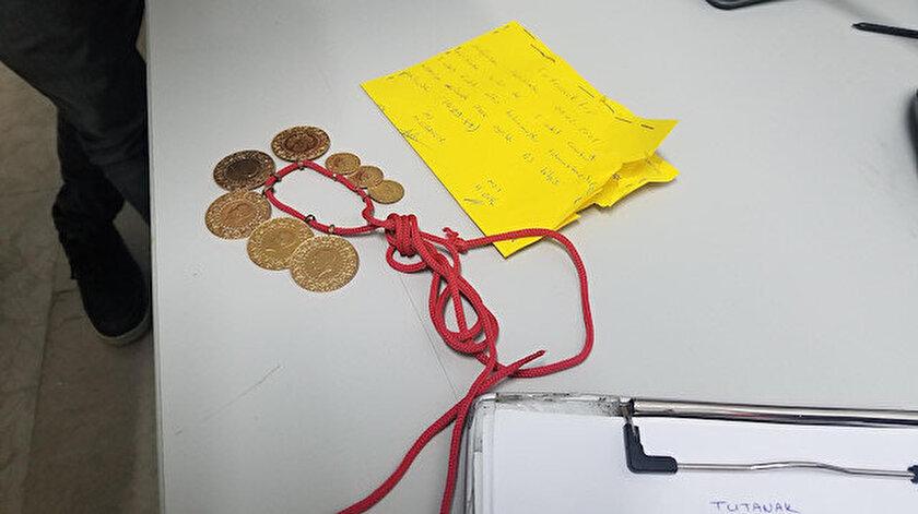 Markette 20 bin liralık altın buldular