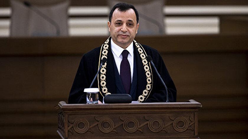 Anayasa Mahkemesi Başkanı Arslan: Anayasa hükümleri üstün hukuk kurallarıdır