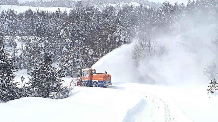 Kastamonu Valiliğinden kar uyarısı: 50 santimetreyi aşabilir