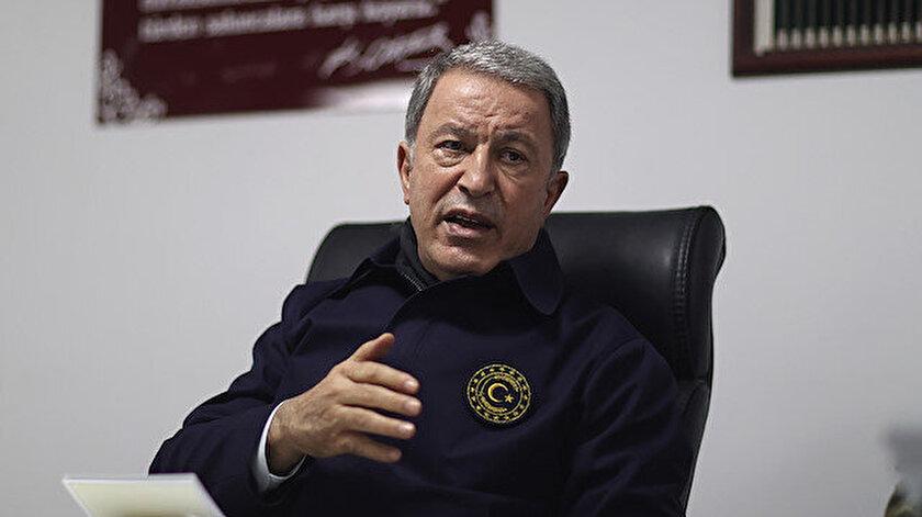 Bakan Akar açıkladı: PKK Gara bölgesinde alıkoyduğu 13 vatandaşımızı mağarada şehit etti