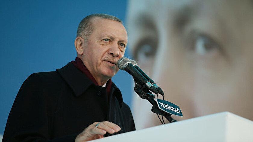 Cumhurbaşkanı Erdoğandan ABDye Gara şehitleri tepkisi: Hani siz PKKnın arkasında değildiniz?