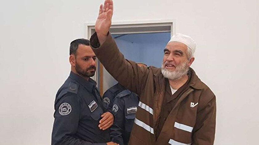 İşgalci İsrailin Şeyh Raid Salah korkusu: Hücre cezasının 6 ay uzatılması talep ediliyor