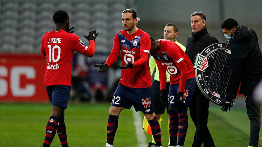 Ligue 1: Lille Brest maç özeti izle