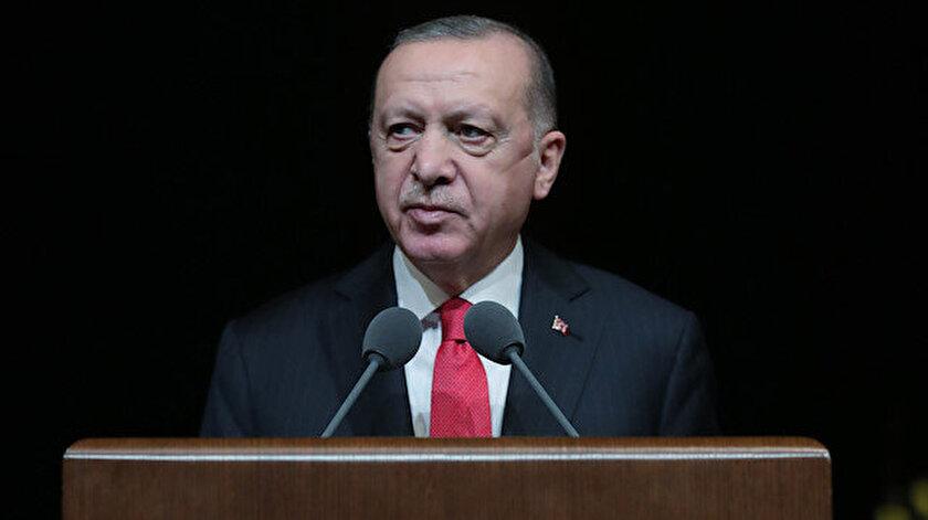 Cumhurbaşkanı Erdoğan Bizim Yunus Yılı Açılış Töreninde konuştu: Dünya Dili Türkçe adıyla bir seferberlik ilan ediyoruz