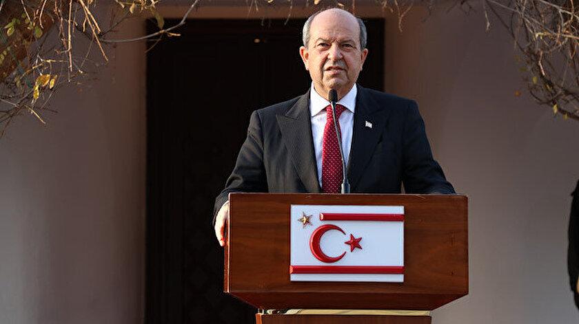 KKTC Cumhurbaşkanı Tatardan net mesaj: Türkiyenin garantörlüğü kırmızı çizgimizdir