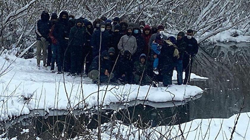 Yunanistanın dövüp ölüme terk ettiği göçmenleri Türk askeri kurtardı