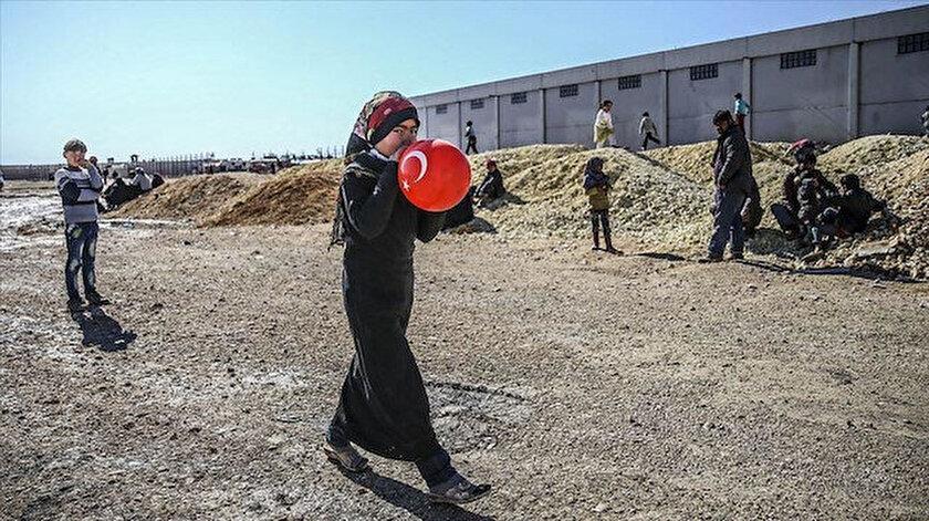 Türkiye, Suriye halkına yardımlarını sürdürüyor.