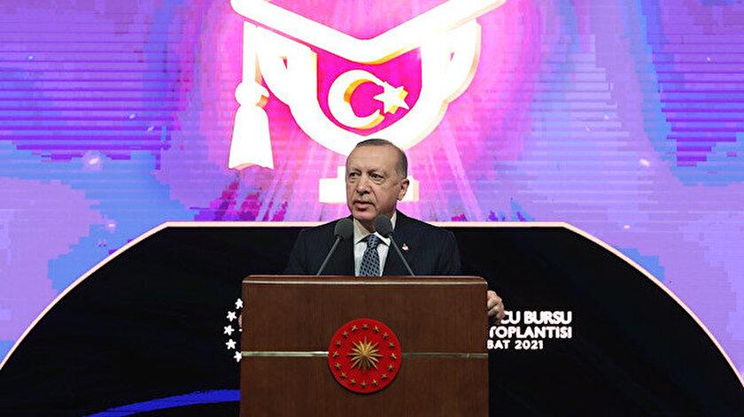 Cumhurbaşkanı Erdoğan: Genç sporcularımız yüzde 100 burslu okuyabilecek