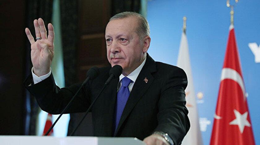 Cumhurbaşkanı Erdoğandan sert sözler: Mızrak çuvala sığmıyor
