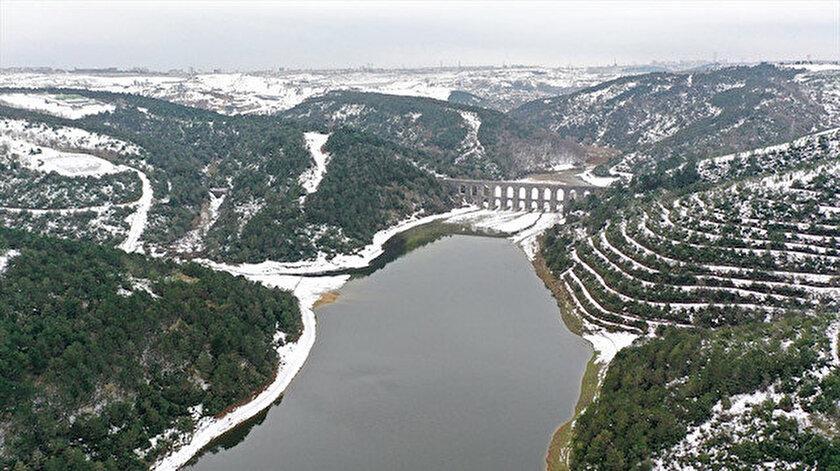 İstanbul'da baraj doluluk oranı yüzde 50'yi aştı