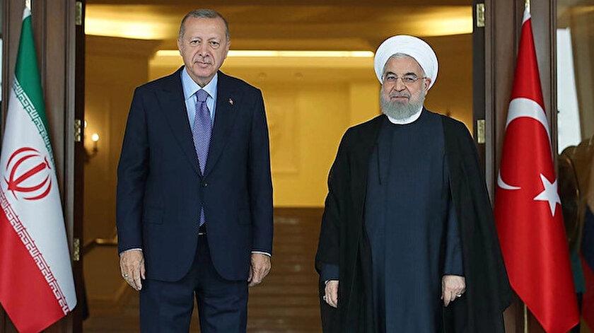 Cumhurbaşkanı Erdoğan - İran Cumhurbaşkanı Ruhani