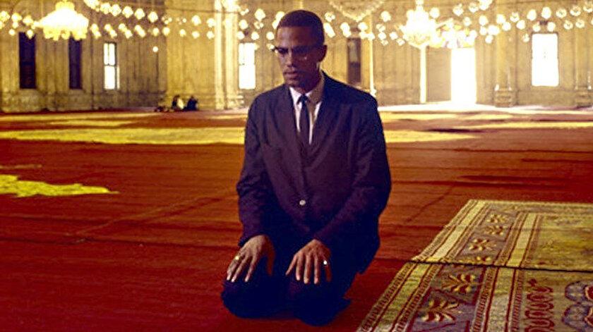 Müslüman aktivist Malcolm X