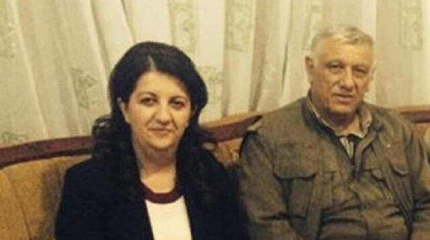 HDP'li Buldan'ın sosyal medya hesabından paylaştığı fotoğraf.