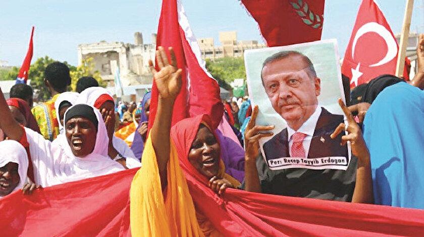Africa Intelligence dergisi Türkiye'nin kıtadaki siyasi etkinliğiyle dünyanın önde gelen güçlerinden biri olduğunu kaydetti.