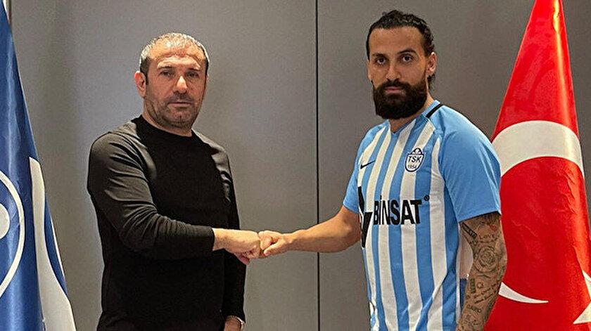Erkan Zengin, 29 Ocak'ta Tuzlaspor'a imza atmıştı.