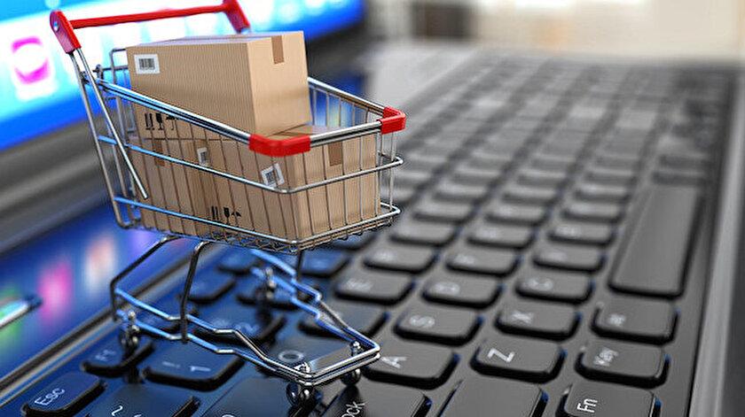 E-ticaret hacmindeki artış rekor kırdı.