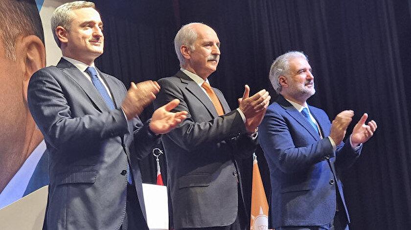 """AK Parti İstanbul Milletvekili Ahmet Hamdi Çamlı, Twitter hesabından paylaştığı fotoğrafa """"İl'de toplandık. Allah hayırlı etsin"""" notunu düştü."""