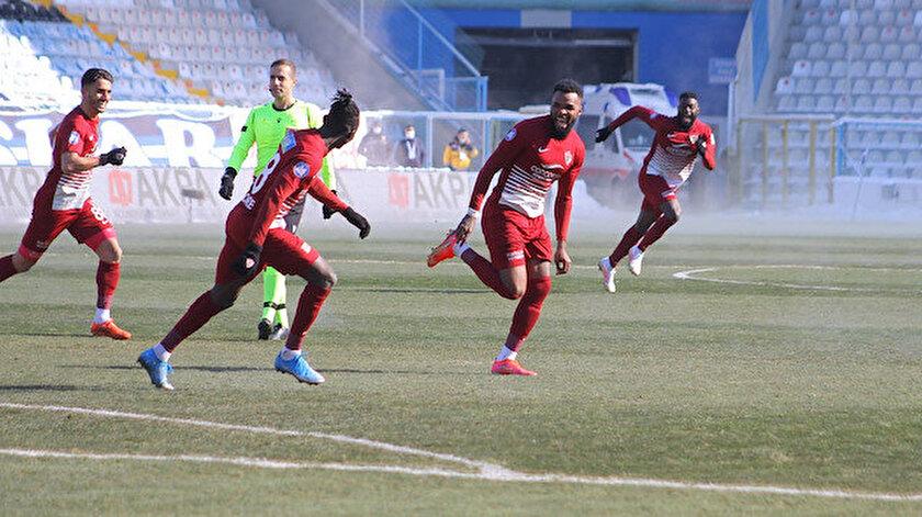 Boupendza Süper Lig'de 18 gole ulaştı.
