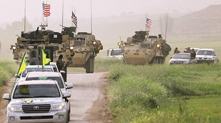 ABD, Suriye'de teröristleri adeta silaha boğdu.