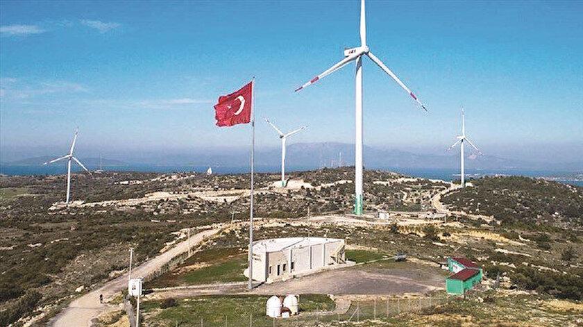 Türkiye'nin ocak ayı itibarıyla rüzgarda kurulu kapasitesi 9 bin 7 megavat olarak kayıtlara geçmişti.