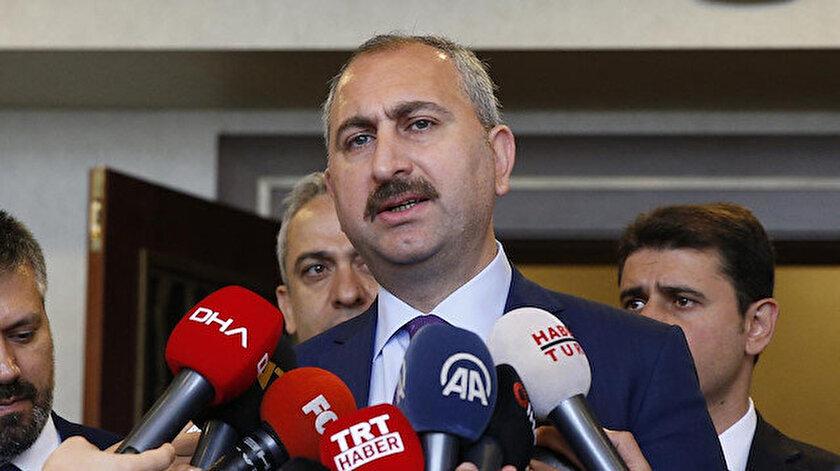 Adalet Bakanı Gül: 13 masumun şehit edildiği vahşet karşısında dillerini yuttular