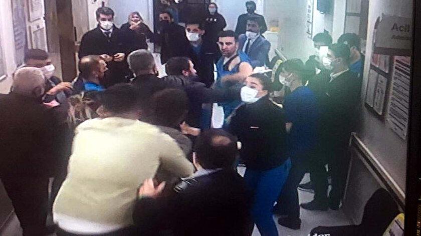 Gaziantepte hasta yakınlarından sağlık çalışanlarına saldırı: 3 yaralı - Gaziantep haber