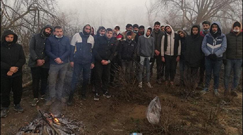 MSB: Yunanistan tarafından Meriç Nehri üzerinde mahsur bırakılan 26 kişilik düzensiz göçmen kurtarıldı