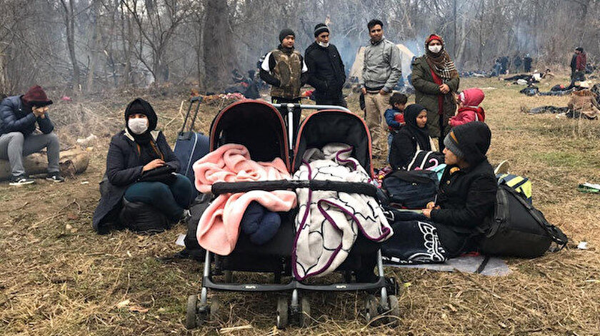 Yunanistanın Midilli Adasındaki hamile bir Afgan sığınmacı kendini yaktı