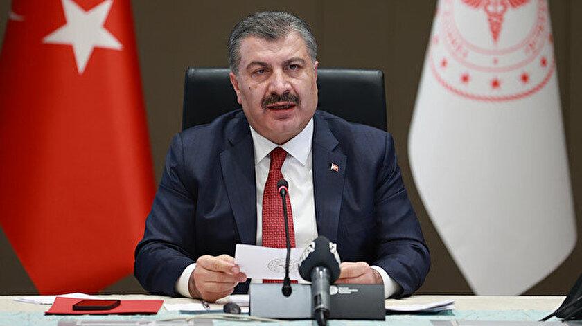 Sağlık Bakanı Koca CHPnin ücretsiz aşı iddialarına yanıt verdi: Aşı savaşının olduğu bir dünyada üretici firma aşıyı bedavaya bağışlar mı?