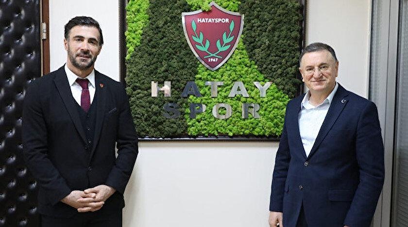 Hatayspor Ömer Erdoğanın sözleşmesini uzattı