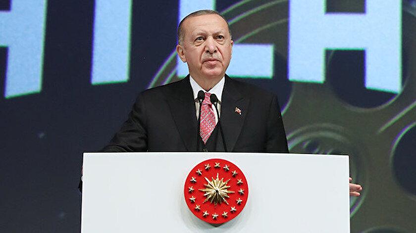 Cumhurbaşkanı Erdoğan Galataport için tarih verdi: 1 Nisanda faaliyete geçmesini bekliyoruz