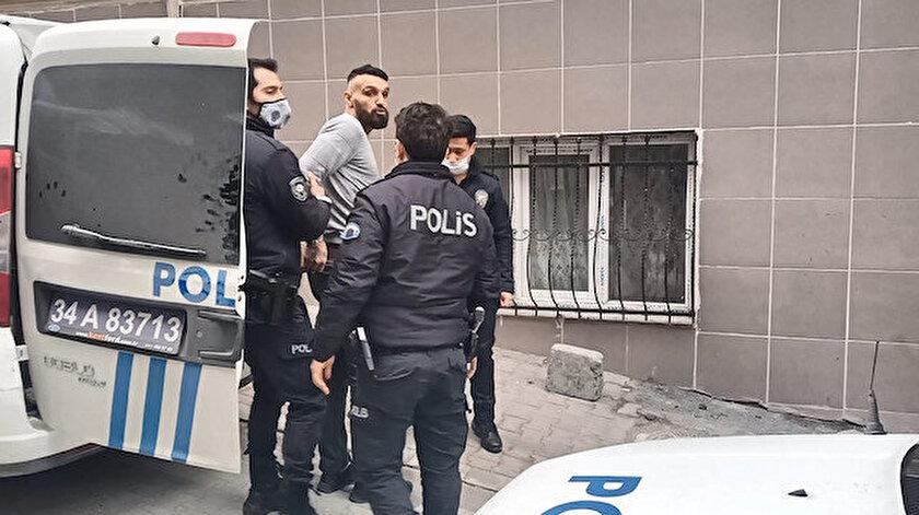 Esenyurtta çatıda yakalanan şüpheliden polise: Eniştem karakola gelince konuşuruz