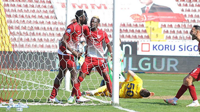Süper Lig: Hatayspor Ankaragücü maçı kaç kaç bitti?