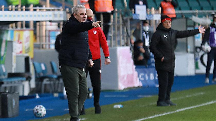 Marius Sumudica takımına isyan etti: Rizeye Mourinho gelse başarılı olamaz