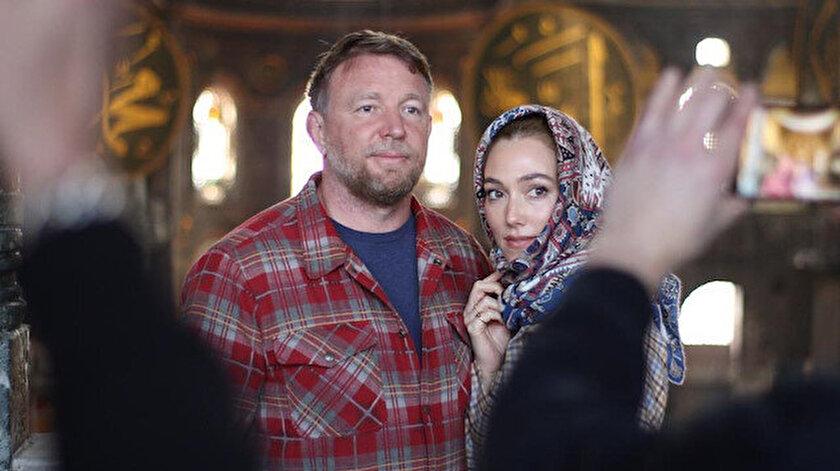 Ünlü yönetmen Guy Ritchieden Ayasofya ve Topkapı Sarayına ziyaret