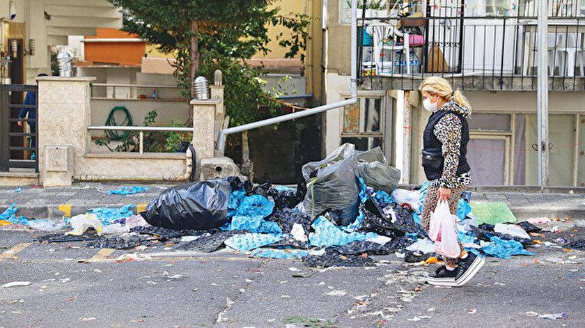 İstanbul Maltepede çöp dağları geri geldi