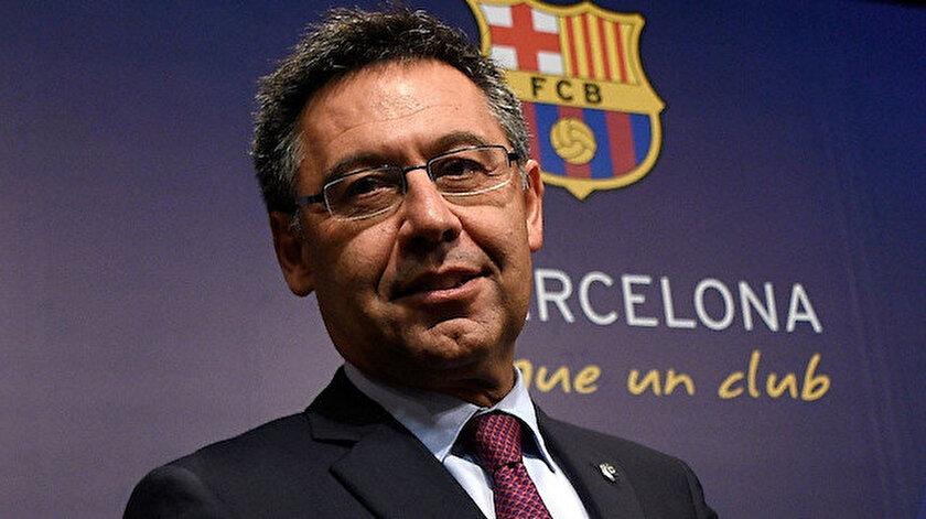 Barcelona eski başkanı Josep Bartomeu İspanyada gözaltına alındı