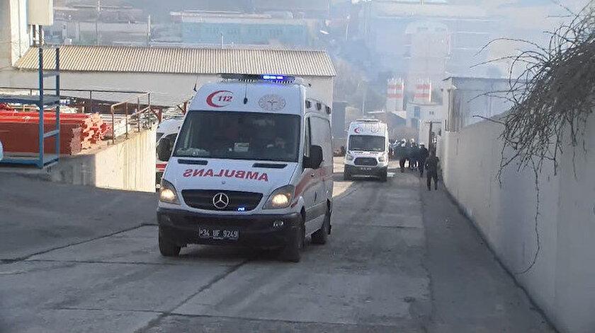 Son dakika: İstanbul Arnavutköyde fabrikada patlama