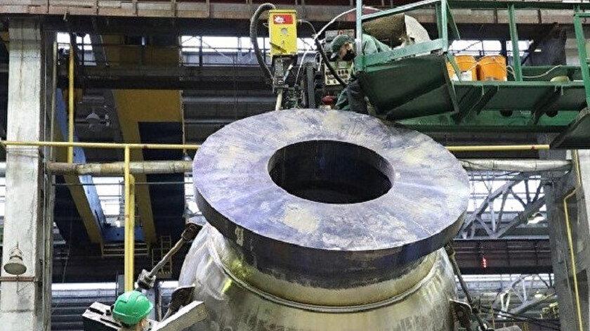 Akkuyu NGSde pompa gövdelerinin montajına başlandı