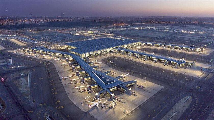 İstanbul Havalimanı Avrupanın zirvesinde