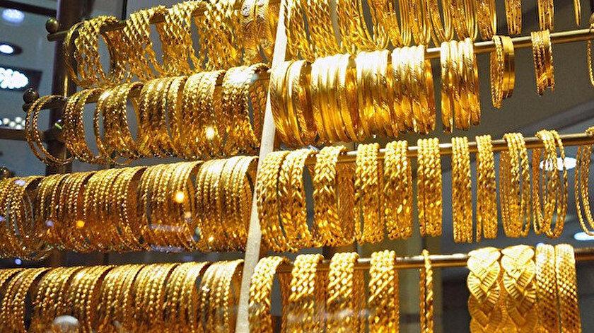 Altının kilogramı 408 bin liraya geriledi