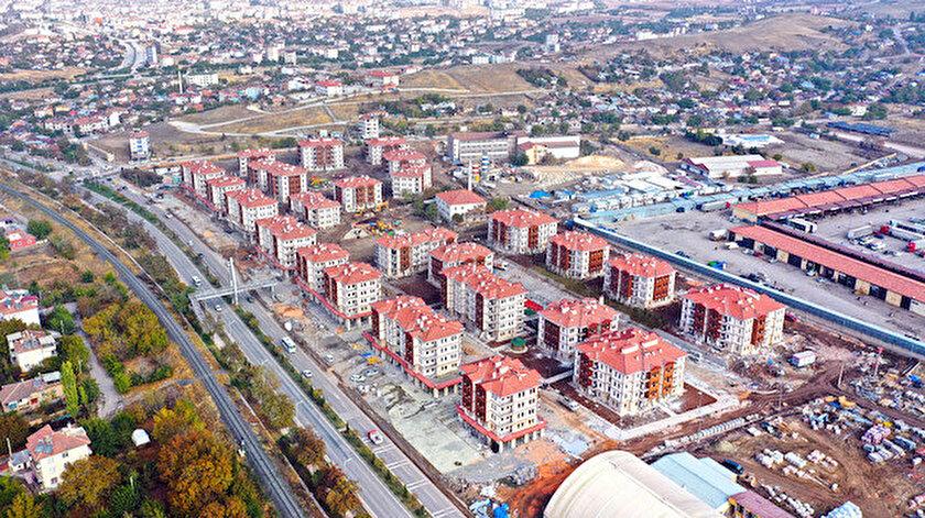 Elazığ Karşıyaka Mahallesinde 115 adet konut satışa sunuluyor