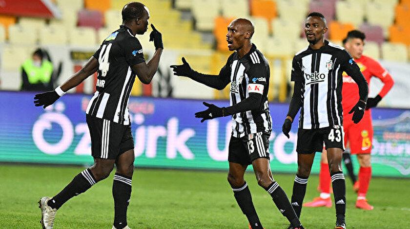 Beşiktaş kritik Malatya deplasmanından Atibanın golüyle 3 puan çıkarttı