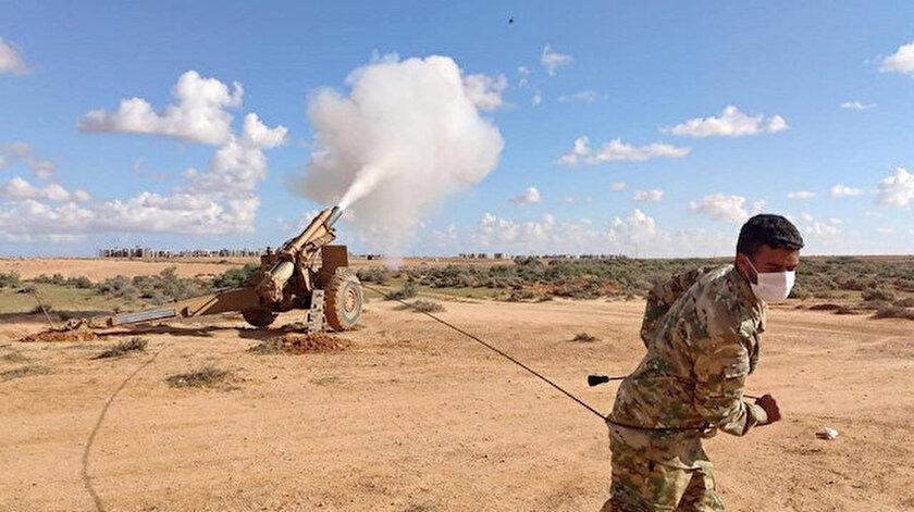 Milli Savunma Bakanlığından Libyalı askerlere havan eğitimi