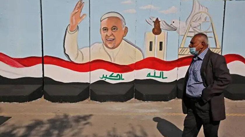 Tarihte bir ilk: Papa Iraka gidiyor