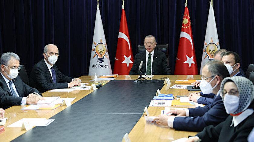 Cumhurbaşkanı Erdoğan: CHP yönetimindeki belediyeler çöp belediyeciliğini hortlattı