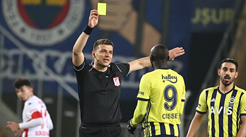 Fenerbahçeden hakem tepkisi: 9 saniyelik orta oyunu